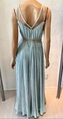 Usado - Vestido Longo Verde Tiffany