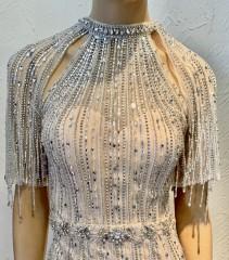 Vestido Longo Prata