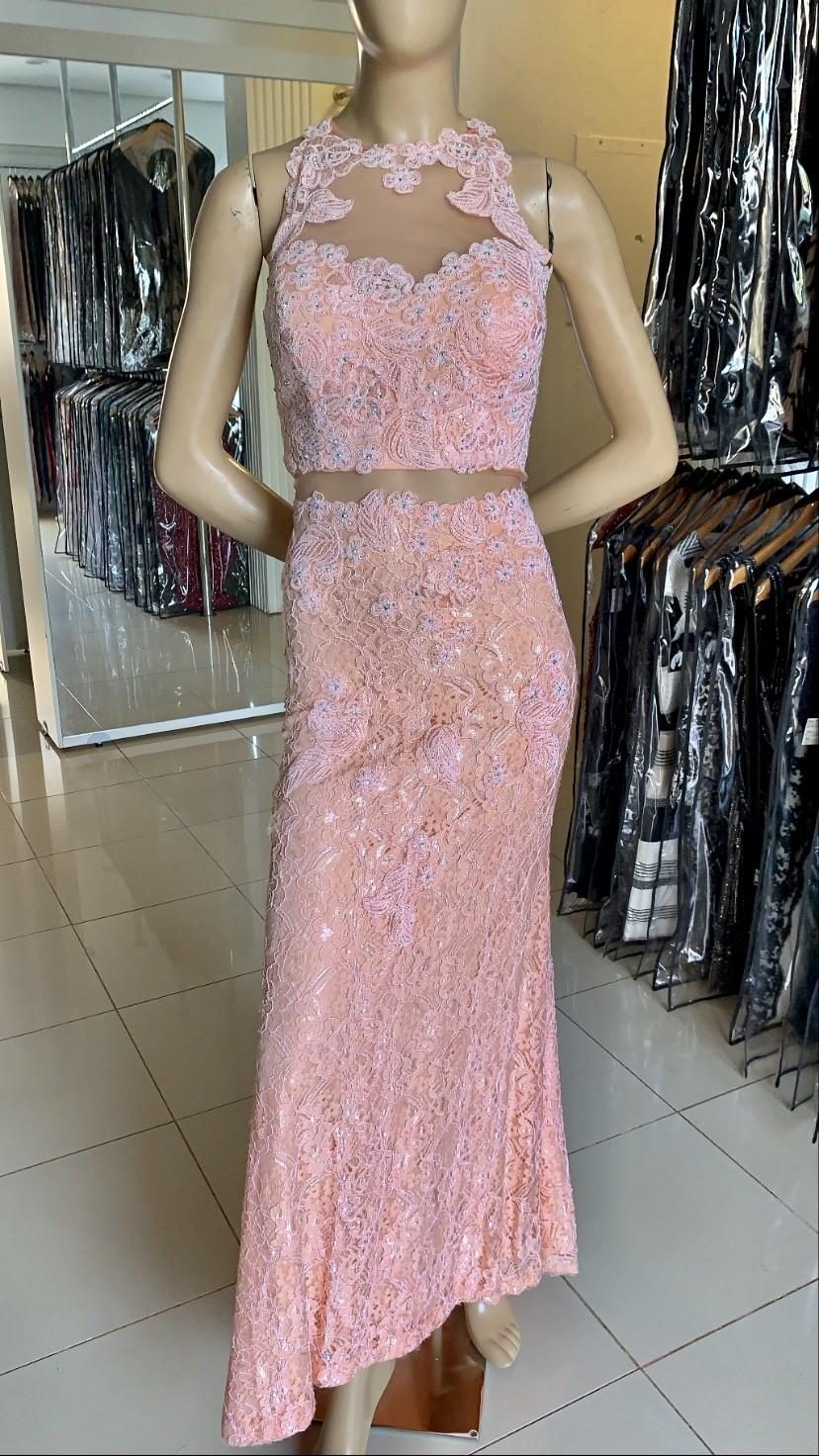 Vestido Longo Rosa