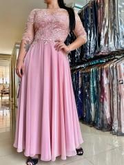 Vestido Longo Rosê